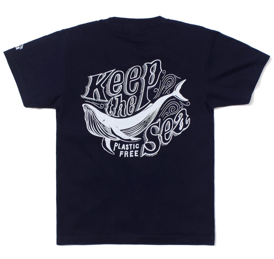 【BLUE PORT】KEEP THE SEA T-SHIRT