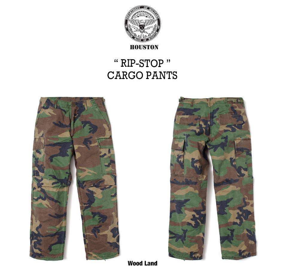 【HOUSTON】MILITARY CARGO PANTS