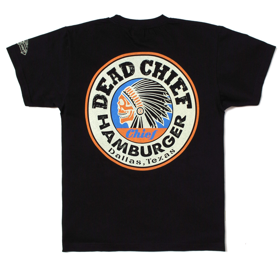 【KNACKERED】DEAD CHIEF HEAVY WEIGHT T-SHIRT