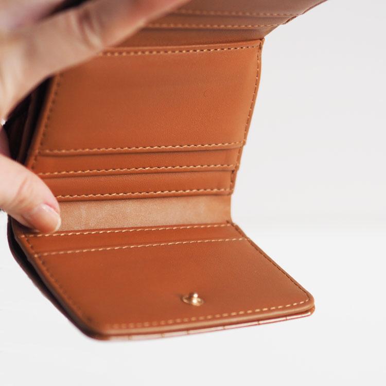 【SMIRNASLI】Mini Walletクロコ/パイソン柄
