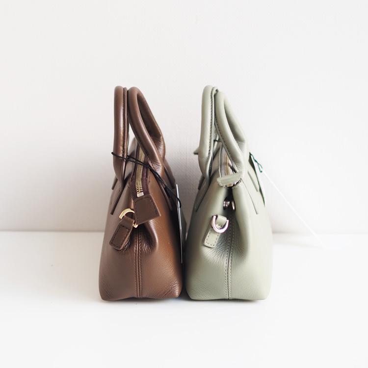 【SMIRNASLI】Gem.Leather Mini Bag