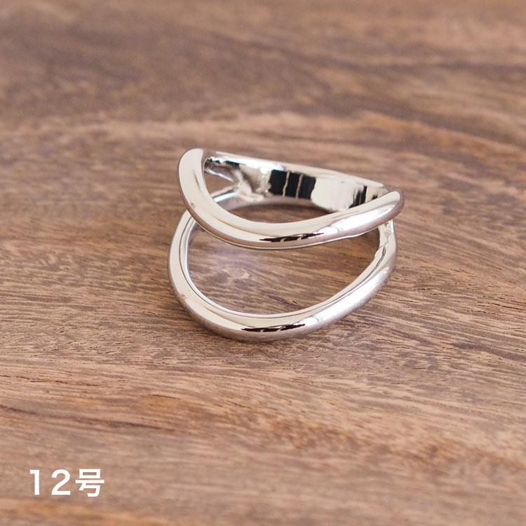 Nuance 3Layered Ring(シルバー)