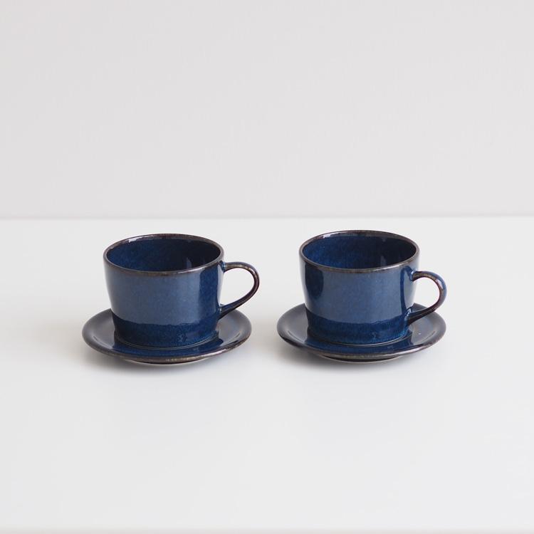【再入荷】北欧ブルー  コーヒーカップ&ソーサー