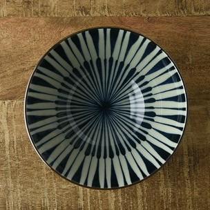 古染八重十草 12.5cm茶碗