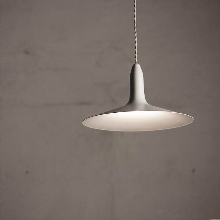 【グレー・ホワイト11月下旬入荷予定】CYMBAL PENDANT LAMP