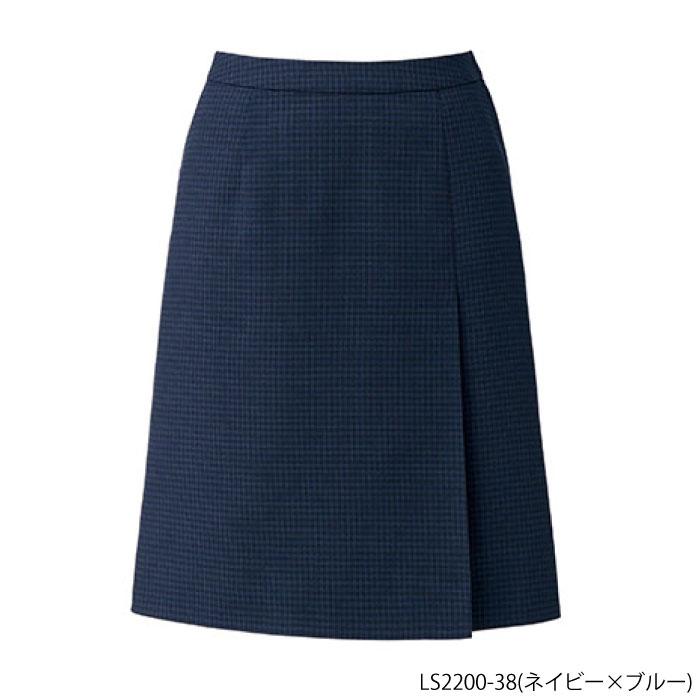 事務服 プリーツスカート チェック柄(LS2200)