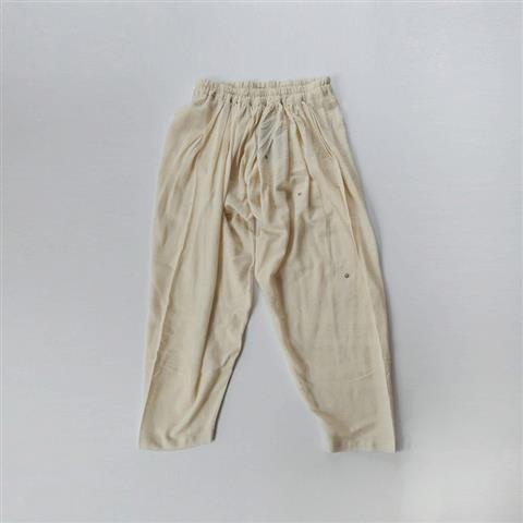 【新品】 クロウ crow gathered pants ギャザーパンツ FREE SIZE(91-2010-42)【22G12】