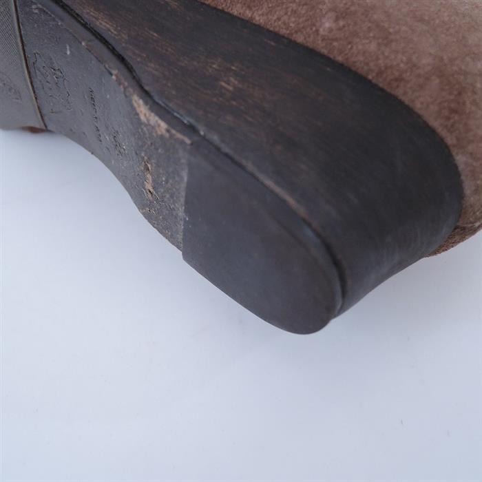 ミナペルホネン mina perhonen snooze ボア使いスウェードショートブーツ 22.5(sh25-1912-76)【10A02】