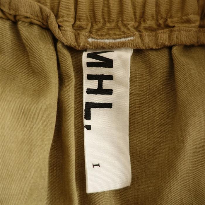 マーガレットハウエル MHL. コットンフロントクロスタックスカート 1(sk2-2011-305)【62K02】