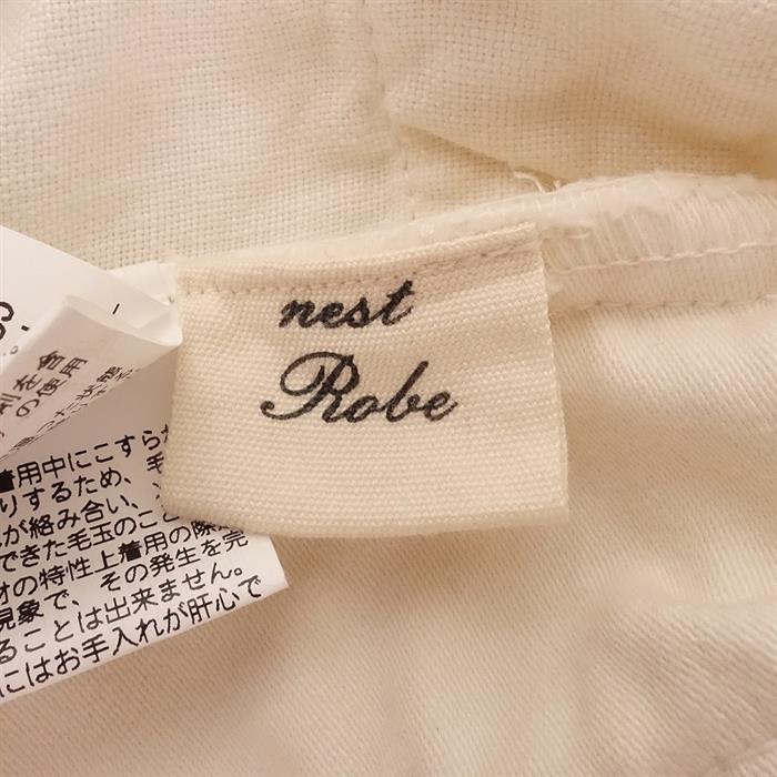 ネストローブ nest Robe 異素材切替ベスト -(25-2006-3)【31F02】