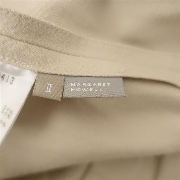 マーガレットハウエル MARGARET HOWELL タックフレアスカート 2(sk10-2012-160)【82L02】