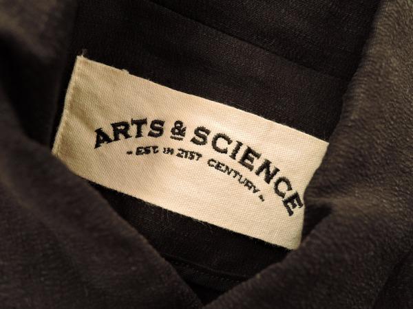 アーツ&サイエンス ARTS&SCIENCE リネン混ジャケット size1 (jk27-1512-6)【均一商品】