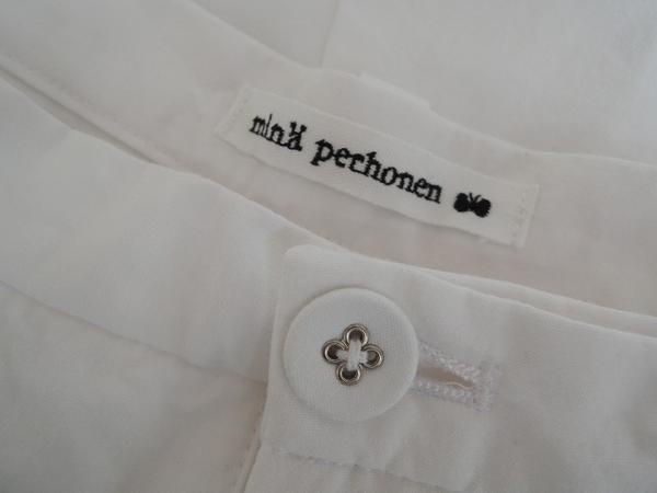 ミナペルホネン mina perhonen luonto ハーフパンツ size36 (pa1-1601-38)【均一商品】