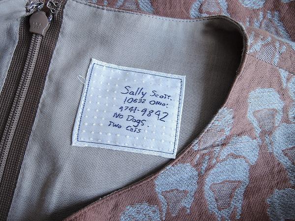 サリースコット Sally Scott 総柄ワンピース size9AR (25-1608-92) 【均一商品】