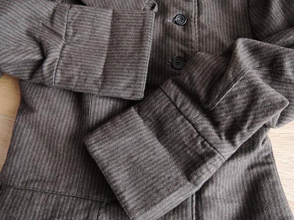 ポールハーデン Paul Harnden Shoemakers ウールストライプ柄ジャケット sizeS (jk22-1704-110) 【均一商品】