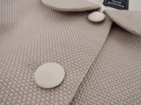 ミナペルホネン mina perhonen ice&rock シルク混コート size36 (jk11-1601-60)【均一商品】