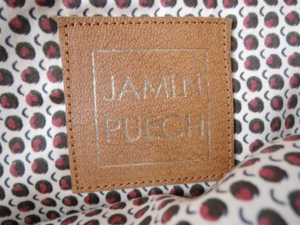 ジャマンピュエッシュ JAMIN PUECH レザー切替トートバッグ (ba93-1602-336)【均一商品】