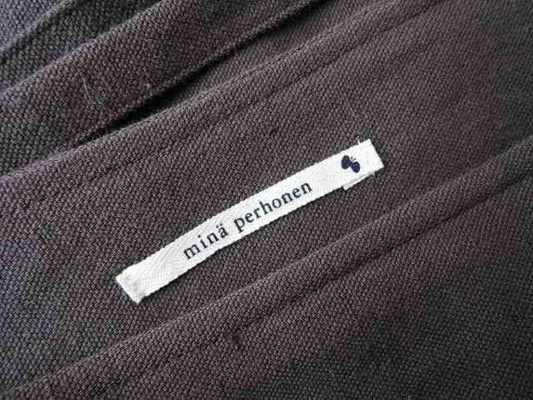 ミナペルホネン mina perhonen boulanger 刺繍スカート (sk31-1603-117)【均一商品】