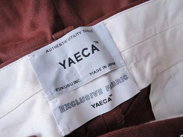 ヤエカ YAECA コットンパンツ sizeM (25-1604-335)【均一商品】