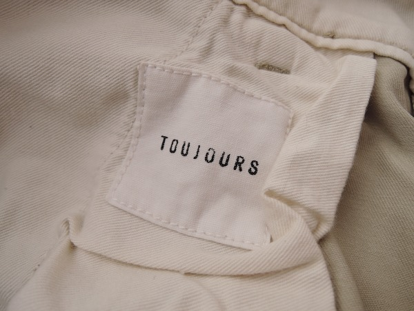トゥジュー TOUJOURS コットンハーフパンツ size1 (88-1605-5)【均一商品】