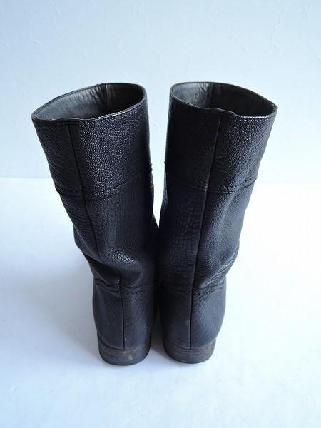 CHRISTIAN PEAU クリスチャンポー レザーブーツ size37/23.5 (sh87-1609-191) 【均一商品】