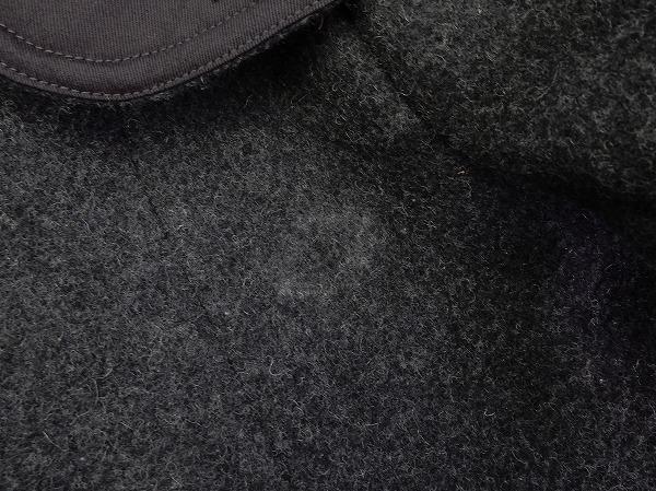 DANTON ダントン ウールモッサフードシングルコート size34 (jk7-1702-125) 【均一商品】