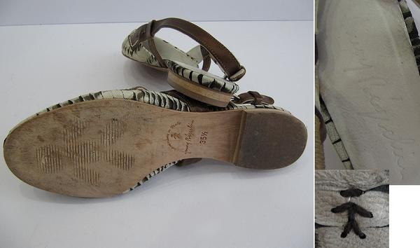 エンリーベグリンHENRY BEGUELIN オミノ刺繍パンプス (240511)【均一商品】