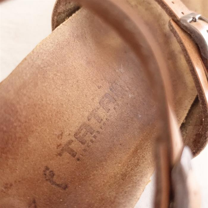 ビルケンシュトックタタミ BIRKENSTOCK TATAMI Iguassu/イグアス レザーストラップサンダル 37/23.5 37(23.5〜24cm)(sh25-2105-342)【01F12】