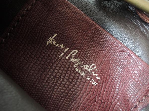 HENRY BEGUELIN エンリーベグリン オミノ刺繍レザーミニバッグ (290514-11)【均一商品】