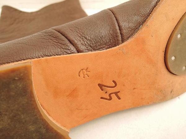 ebagos エバゴス レザーショートブーツ size2.5/22.5 (sh80-1512-98)【均一商品】