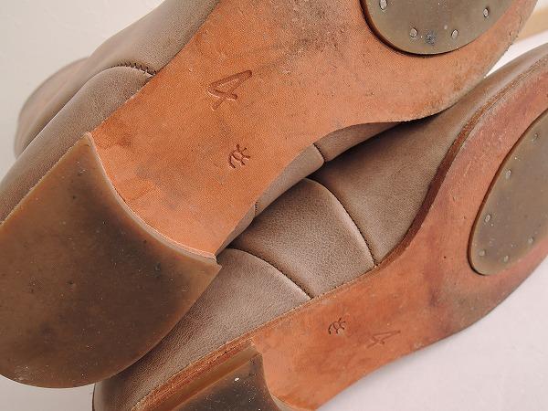 エバゴス ebagos ロングブーツ size4/24 (sh87-1612-202) 【均一商品】