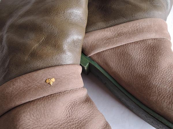mina perhonen ミナペルホネン cannoli ロングブーツ size37/23.5 (sh87-1703-21) 【均一商品】