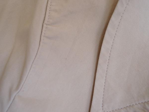 マーガレットハウエル MARGARET HOWELL ダブルブレストショートコート size1 (jk2-1706-71) 【均一商品】