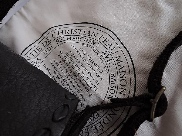 クリスチャンポー CHRISTIAN PEAU レザーフラップポシェット (ba85-1702-25) 【均一商品】