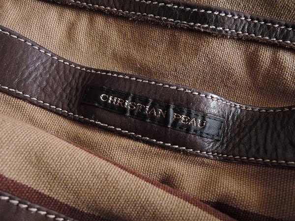 クリスチャンポー CHRISTIAN PEAU レザートートバッグ (ba85-1703-17)【均一商品】
