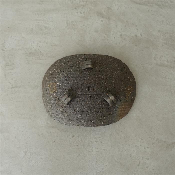 【美品】 荒木義隆 荒木義隆 長方皿(wa85-2104-124)【10E12】