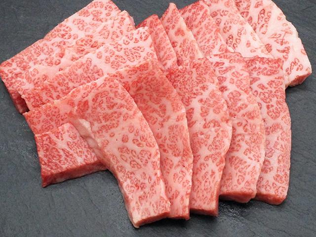 大黒千牛 A-5 三角バラカルビ焼肉用 300g入り