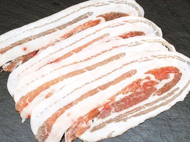 えびすもち豚 バラ肉 スライス用 200g入り
