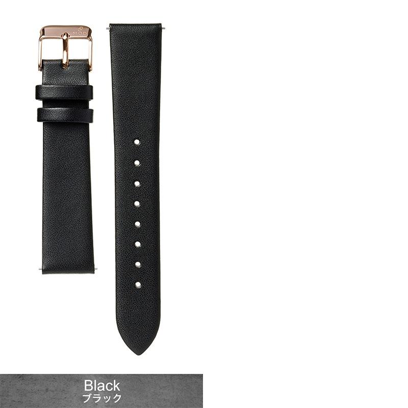 [コモノ 対応] スムースレザーストラップ komono 腕時計 替えベルト 18mm 20mm