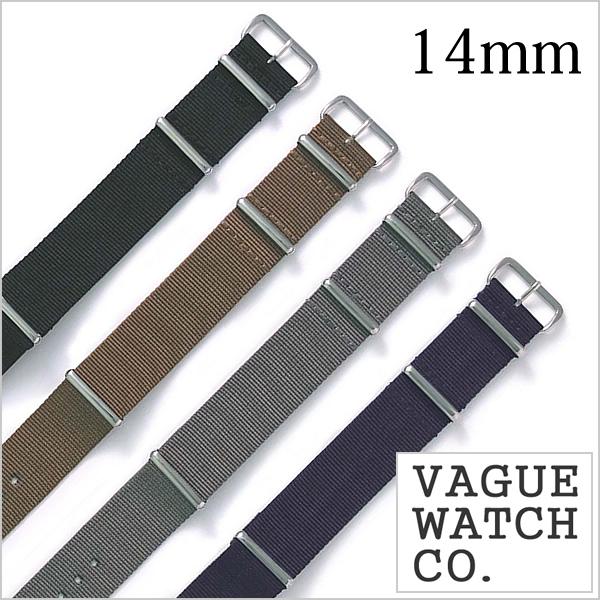 VAGUE WATCH Co. ヴァーグウォッチ ナイロンベルト 14mm ナイロン