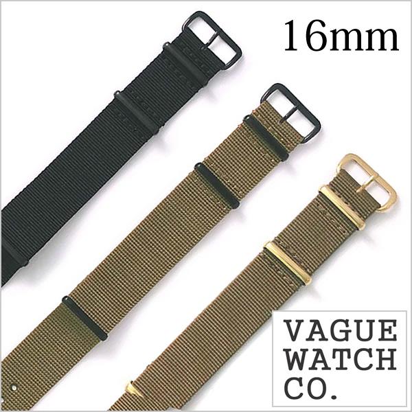 VAGUE WATCH Co. ヴァーグウォッチ ナイロンベルト 16mm ナイロン