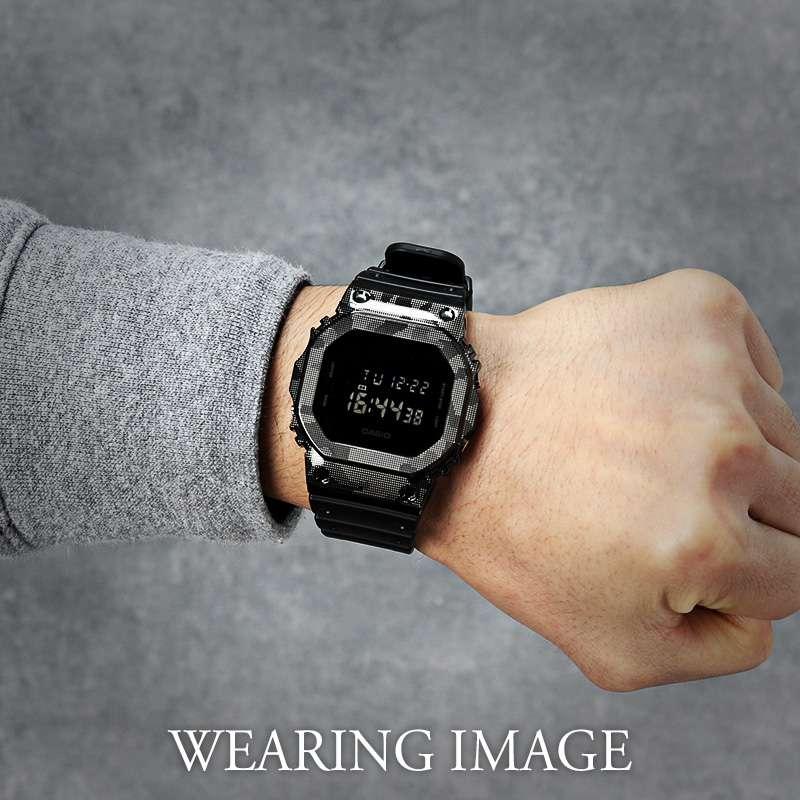 G-SHOCK DW-5600 シリーズ対応 フルメタルケース 限定カラー デジカモ カスタムセット Gショック ジーショック ステンレススチール バンパー ケース カモフラ 迷彩柄 FULL METAL CASE 金属 替え 交換 時計 腕時計 メンズ 人気 ブランド おすすめ おしゃれ シンプル 高級 MOD