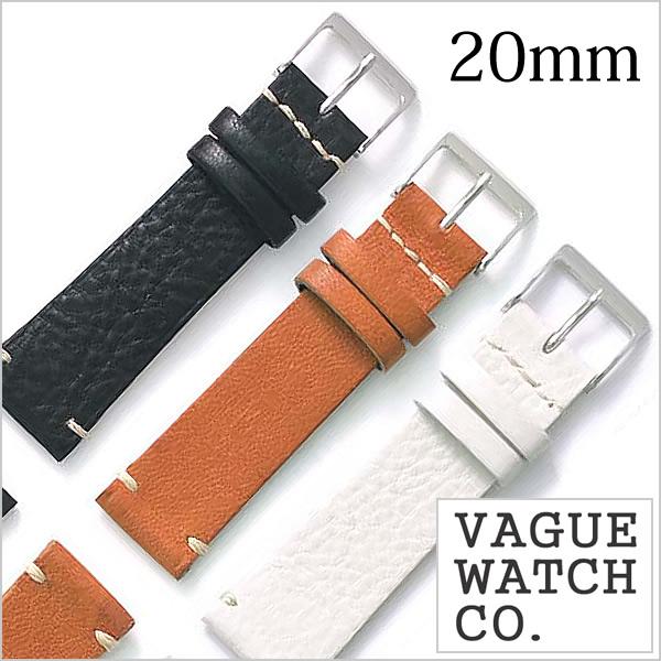VAGUE WATCH Co. ヴァーグウォッチ レザーベルト 20mm レザー