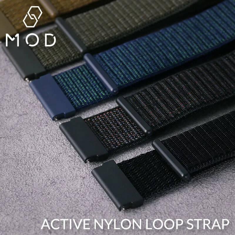 MOD エムオーディー ACTIVE NYLON LOOP STRAP アクティブ ナイロン ループ ストラップ 20mm 22mm