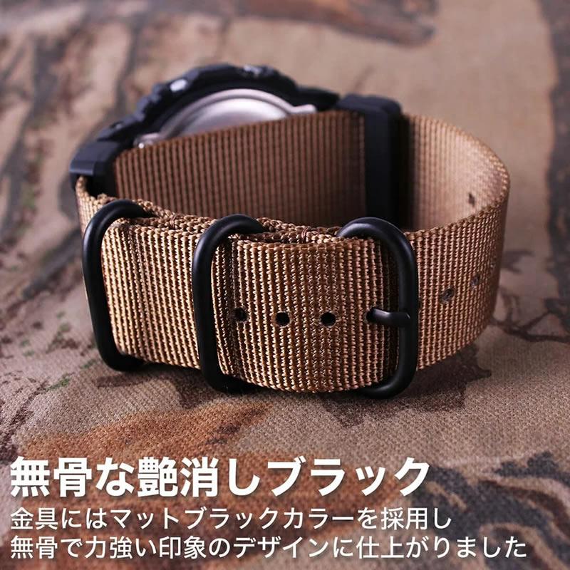 MOD エムオーディー ZULU NYLON STRAP ズールー ナイロン ストラップ 22mm 24mm