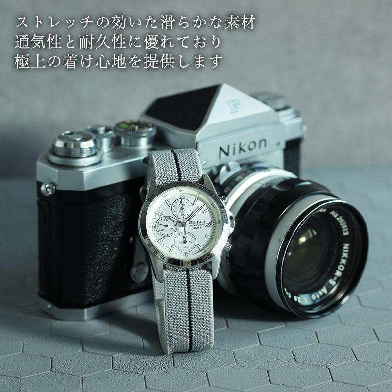 【6色から選べる】【SEIKO SNDシリーズ対応】MOD エムオーディー MARINE NATIONAL STRAP 20mm ナイロン 海外 セイコー 海外モデル 逆輸入 49968