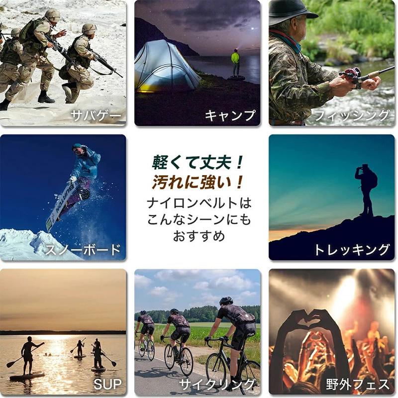 【SEIKO BOYシリーズ対応】MOD エムオーディー ZULU NYLON STRAP 22mm ナイロン セイコー ボーイ SKX007 SKX009 SKX011 49973