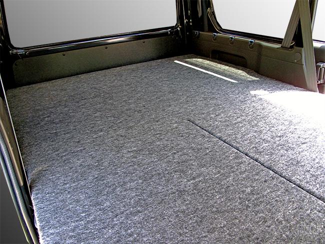 バモスホビオ HM3/HM4 L/Gグレード ハーフサイズ ベッドキットパンチカーペット