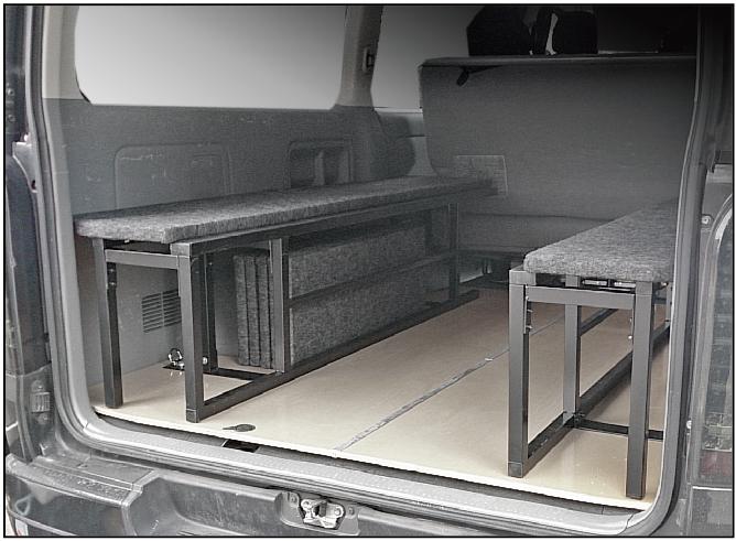 ハイエース ベッドキット ワイドS-GL用 BOXタイプ