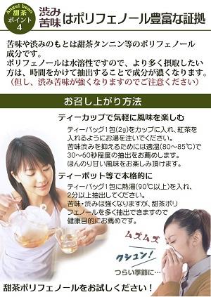 甜茶 (てんちゃ) バラ科 甜葉懸鈎子/テンヨウケンコウシ100% 農薬不使用 ティーバッグ2g×50包